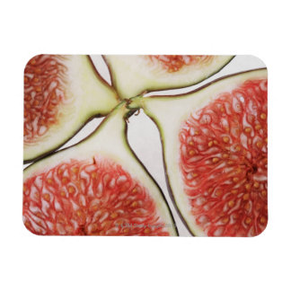 Sliced figs, close-up magnet