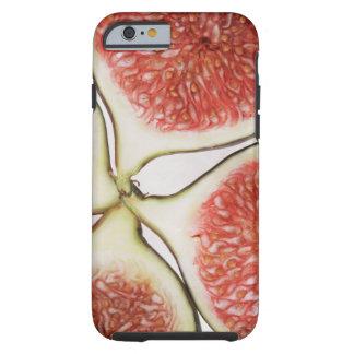 Sliced figs, close-up tough iPhone 6 case