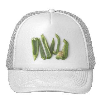 Sliced Green Bell Peppers Trucker Hat