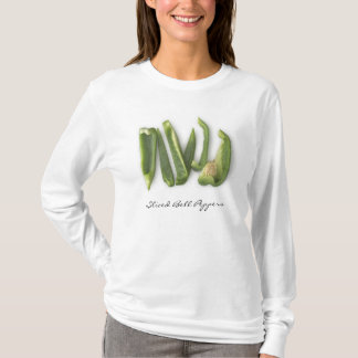 Sliced Green Bell Peppers T-Shirt