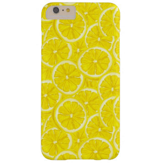 Sliced Lemon Pattern Barely There iPhone 6 Plus Case