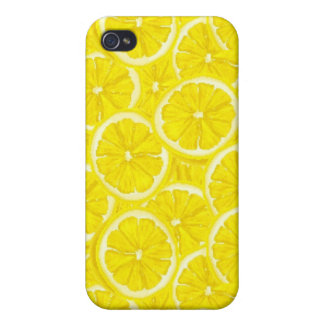 Sliced Lemon Pattern Covers For iPhone 4