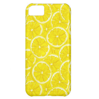 Sliced Lemon Pattern iPhone 5C Covers