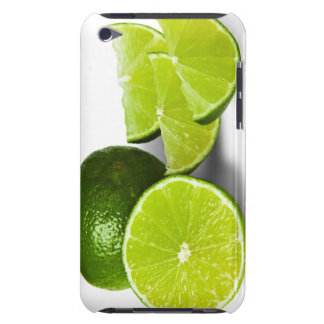 Sliced lime wedge, on white background, cut out barely there iPod cover
