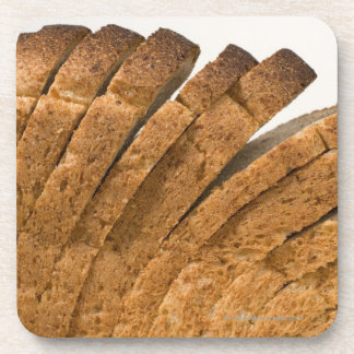 Sliced loaf of bread coaster