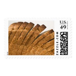 Sliced loaf of bread postage