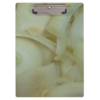 sliced onion vegtable food photo clipboard