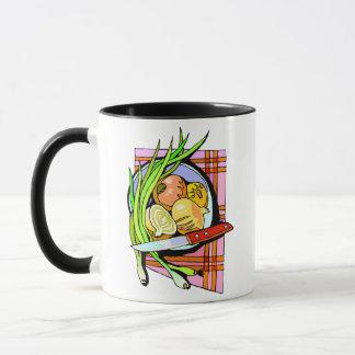 Sliced Onions and Potatoes Mug