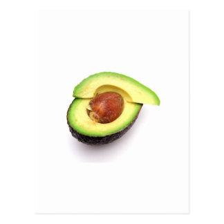Sliced Open Avocado Postcard