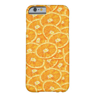 Sliced Orange Pattern Barely There iPhone 6 Case