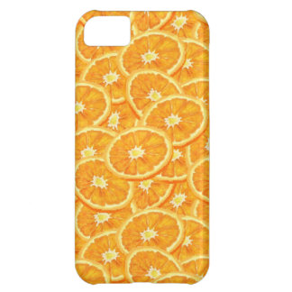 Sliced Orange Pattern Cover For iPhone 5C