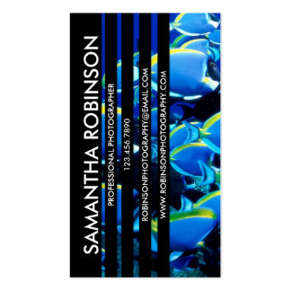 Sliced Photograph - Style 1 Double-Sided Standard Business Cards (Pack Of 100)