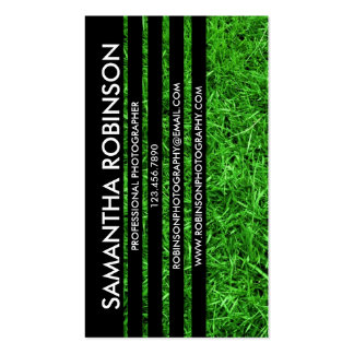Sliced Photograph - Style 3 Double-Sided Standard Business Cards (Pack Of 100)