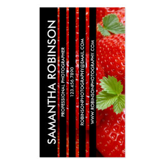Sliced Photograph - Style 4 Double-Sided Standard Business Cards (Pack Of 100)