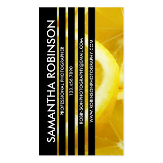 Sliced Photograph - Style 6 Double-Sided Standard Business Cards (Pack Of 100)