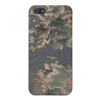 Sliced Polished Jasper iPhone 5 Covers