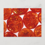 Sliced Tomatoes postcard