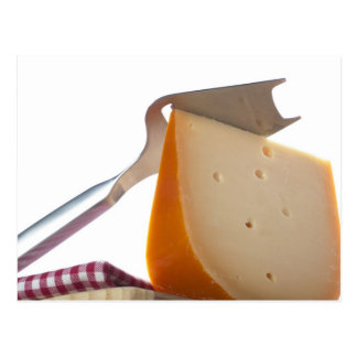 Slicer and Cheese Wedge Postcard