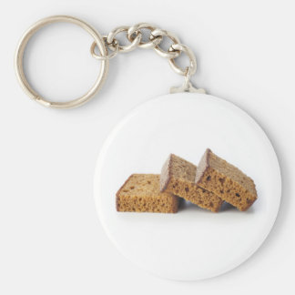 Slices of Breakfast Cake Keychain