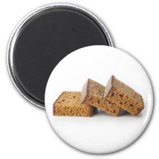 Slices of Breakfast Cake Magnet