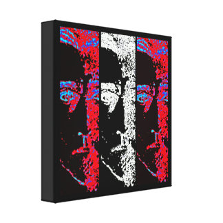 Slices of Freedom Canvas Print