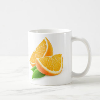 Slices of orange coffee mug