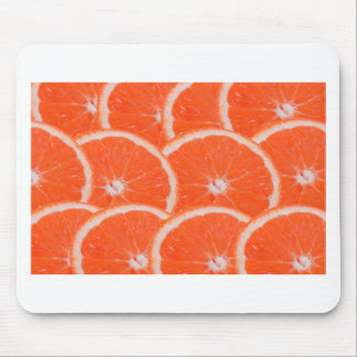 Slices of orange mouse pad
