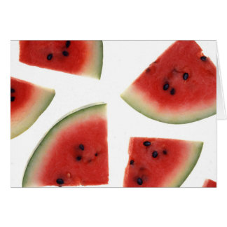 Slices of Watermelon Card