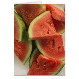 Slices of watermelon cards
