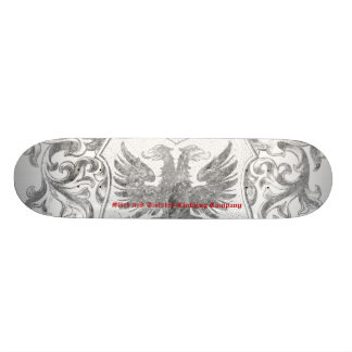 Slick and Twisted Coat of Arms Skateboard
