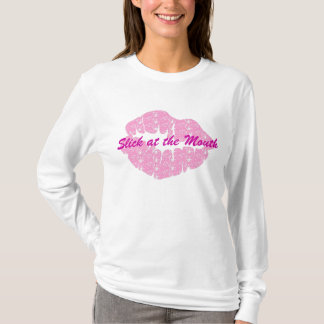 Slick at the Mouth-Womens Hoodie Tee