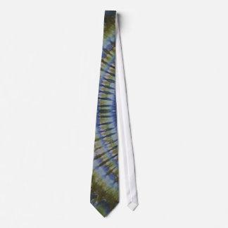 Slick Green Tie Dye NeckTie
