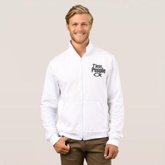 Slick Jesus People Fleece Jogger Jacket