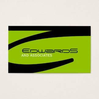 Slick  Masculine Business Cards