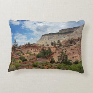 Slick Rock Zion National Park Utah Decorative Pillow
