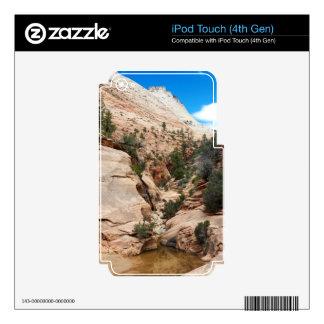 Slick Rock Zion National Park Utah iPod Touch 4G Skin