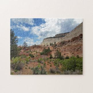 Slick Rock Zion National Park Utah Jigsaw Puzzle