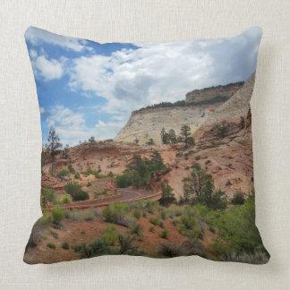 Slick Rock Zion National Park Utah Pillow