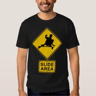 slide area design t-shirt