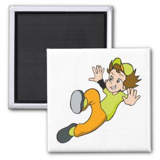 Slide Boy Magnet