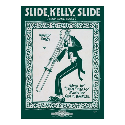 SLIDE, KELLY, SLIDE ... TROMBONE BLUES 1920