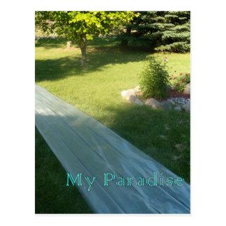 Slide Paradise Postcard