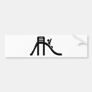 Slide playground bumper stickers