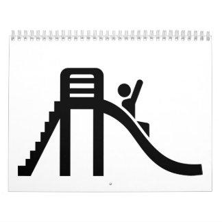 Slide playground calendar
