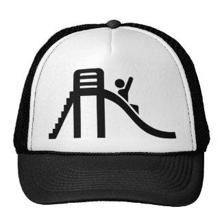 Slide playground trucker hats