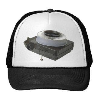 Slide projector mesh hat