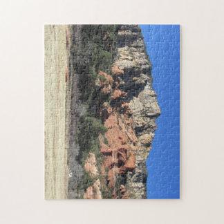 slide rock, sedona arizona jigsaw puzzle