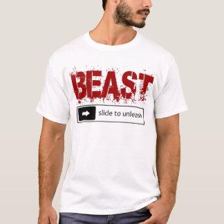 slide to unleash the beast T-Shirt