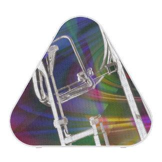 Slide Trombone key 3 Ring Binder Notebook ADD TEXT Speaker