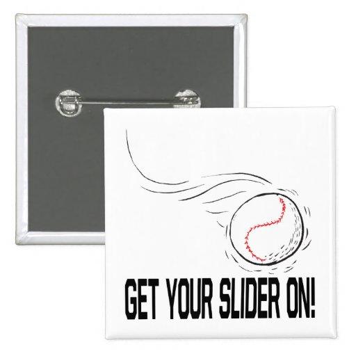 Slider Pinback Button